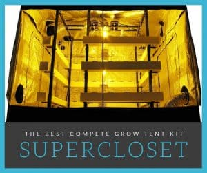 the best complete grow tent kit supercloset review