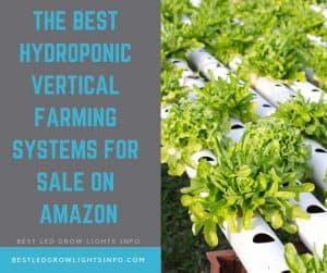 The Best Hydroponic Vertical Farming Systems for Sale