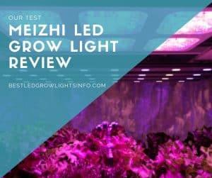 meizhi led grow light review